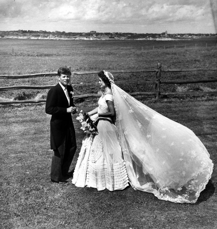 Wedding of Senator John F. Kennedy and Jacqueline Bouvier