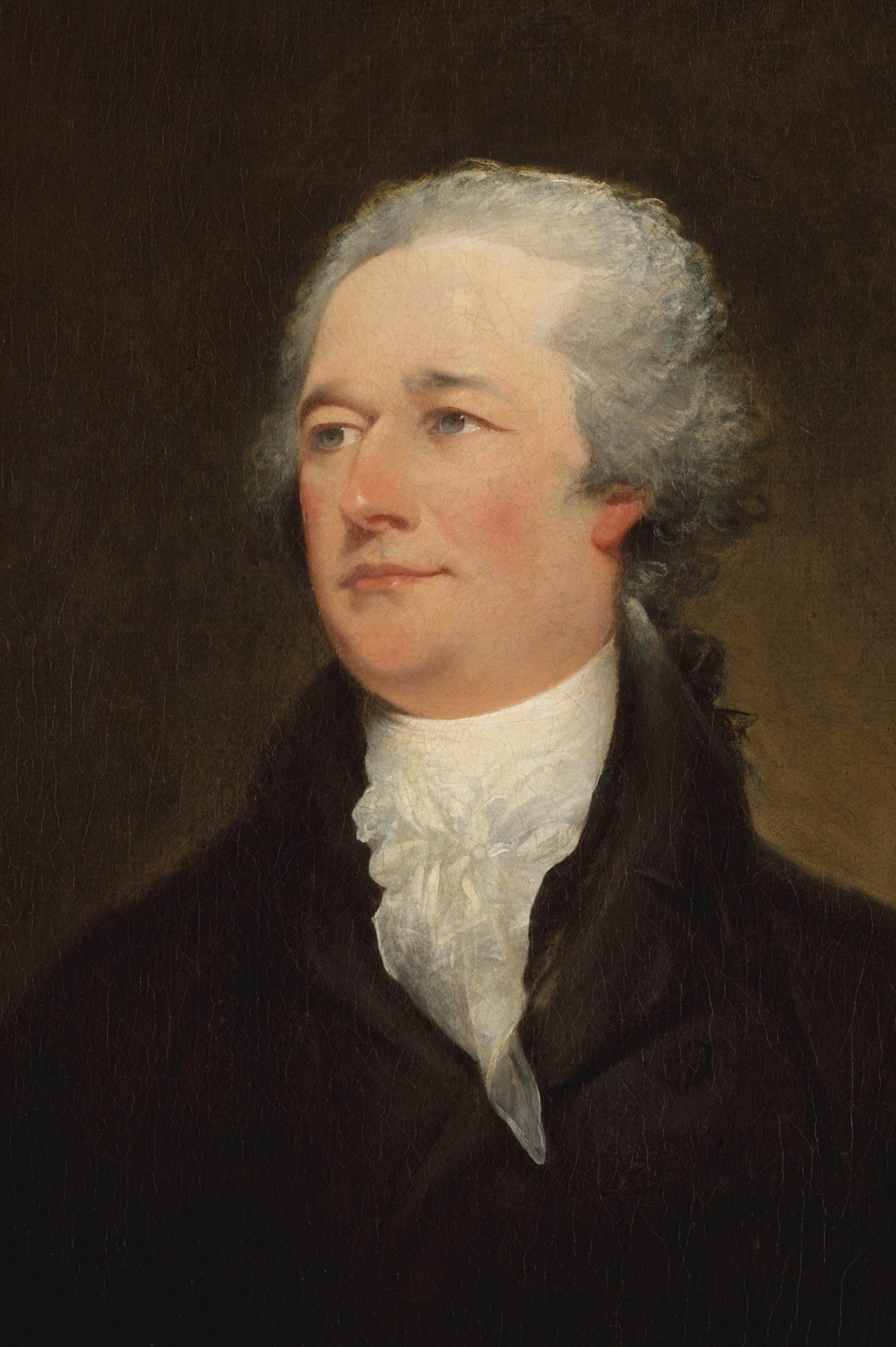 Mandatory Credit: Photo by Everett/Shutterstock (10410351a) Alexander Hamilton, by John Trumbull, 1804-06, American painting, oil on canvas. This painting is one of a series of Hamilton portraits Trumbull painted from 1804 to 1808, from Joseph Ceracchis marble sculpture of 1794.