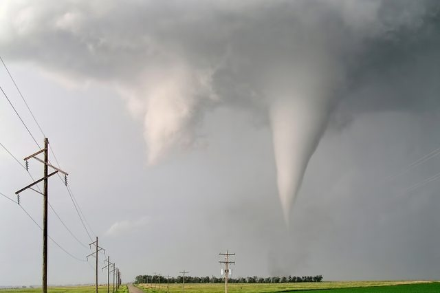 Tornado down the road near Stuart, NE on June 9th 2003.