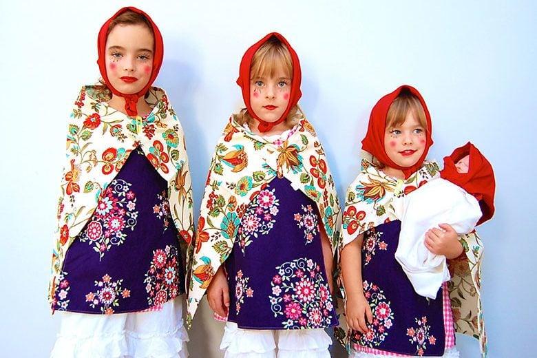 Nesting Dolls Family Costume