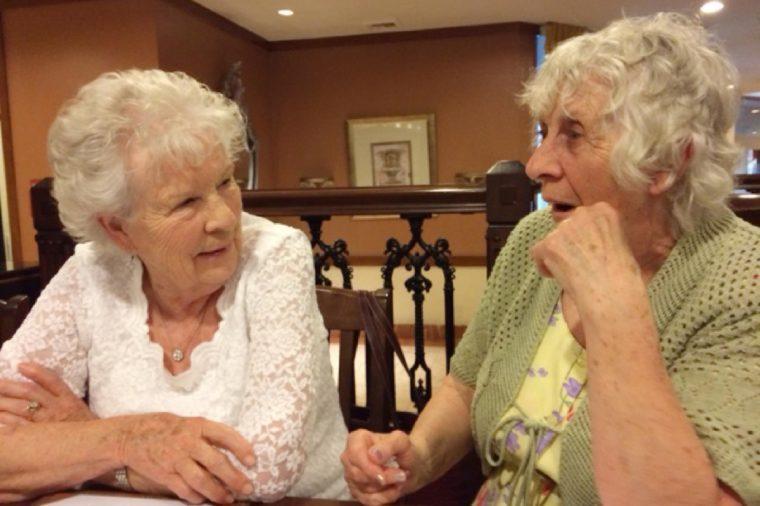 Ann Hunt and Elizabeth Hamel