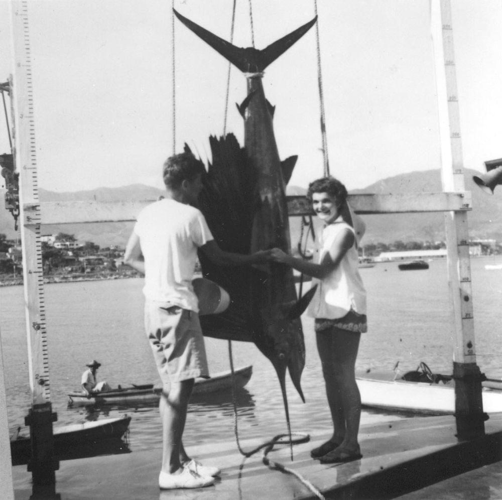 John and Jackie fishing