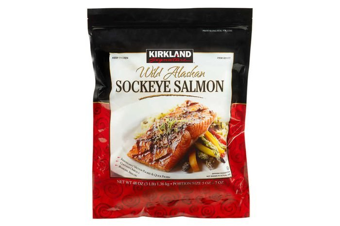 Kirkland Signature Wild Sockeye Salmon Filets, 3 lbs