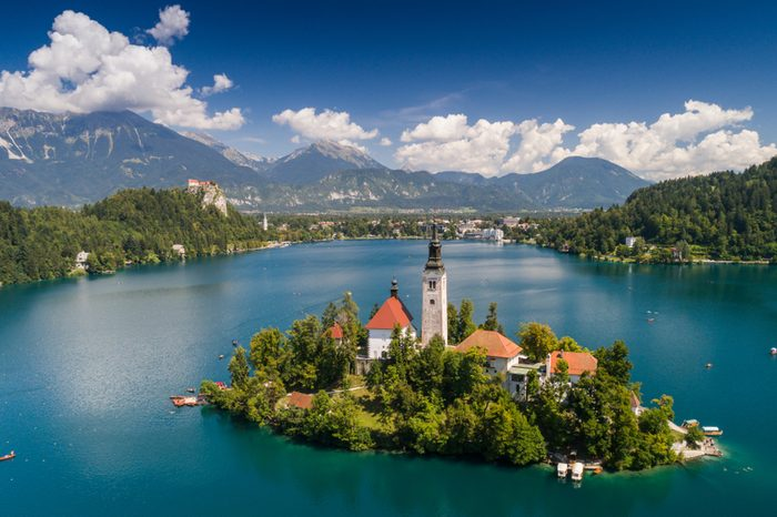 Church of the Assumption, Bled, Slovenia