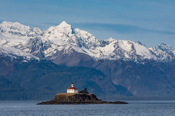 The Eldred Rock Lighthouse is an historic octagonal lighthouse adjacent to the Lynn Canal, Haines, Alaska.