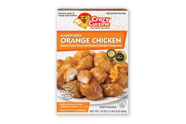 Mandarin Orange Chicken / 22 oz / Grocery Store