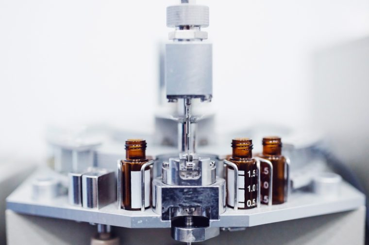 Pharmaceutical industry production of liquid