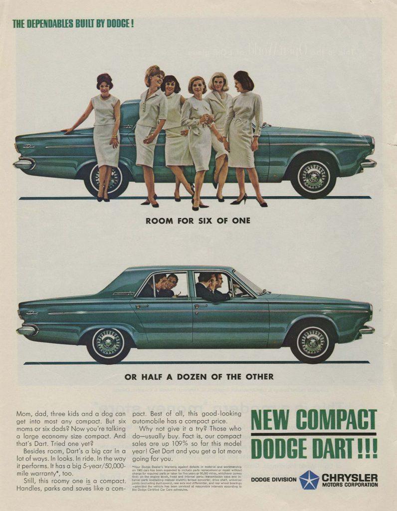 '63 compact dodge dart ad