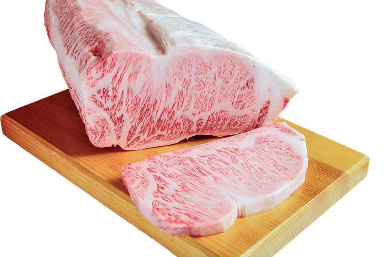 Japanese Wagyu New York Strip Loin Roast, A-5 Grade, 13 lbs