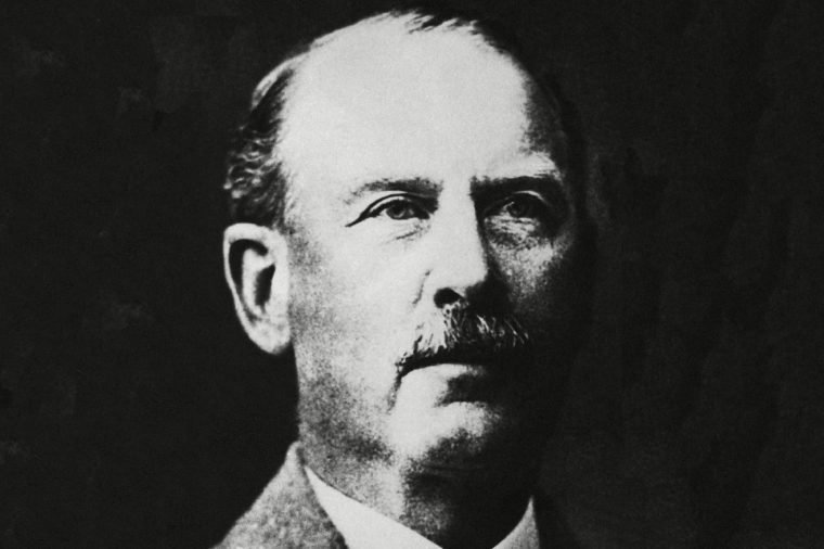 A portrait of Colonel Percival Harrison Fawcett, the British explorer shown, who disappeared on an expedition in the Brazilian jungle in 1925. A Brazilian government expedition claimed to have discovered the bones of the missing explorer