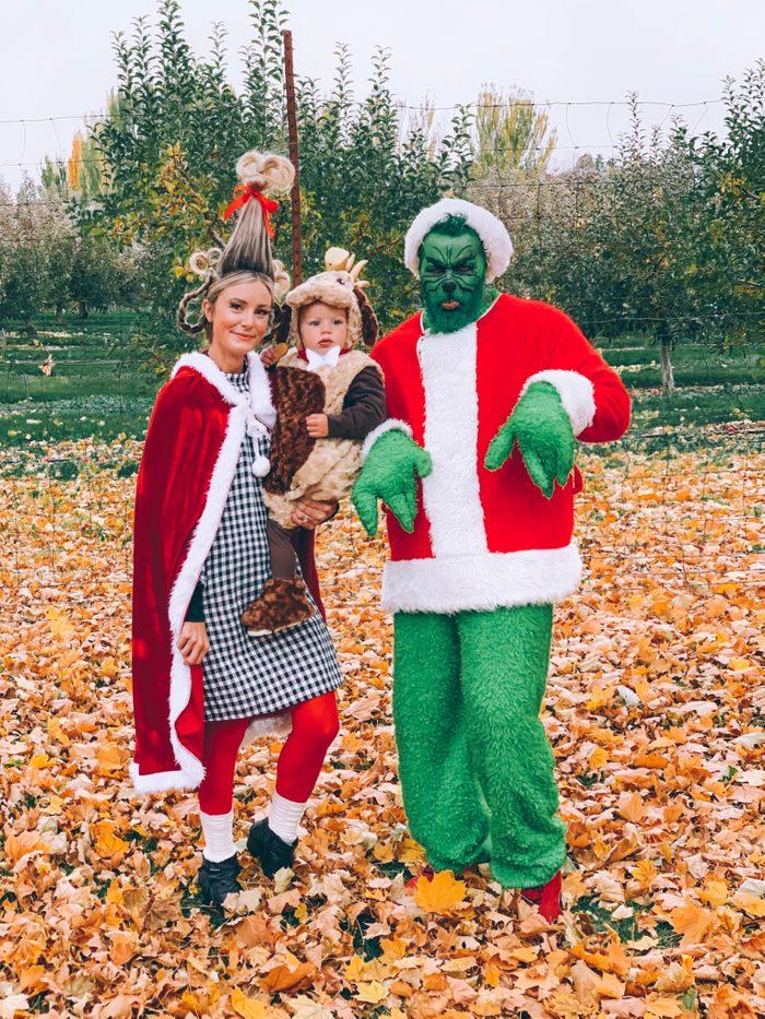 Courtney Housley grinch costume