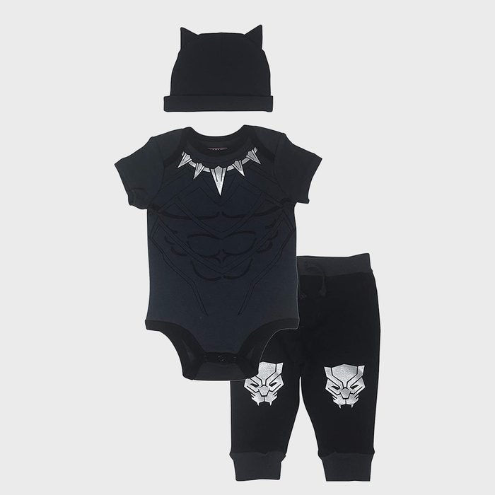 Black Panther Baby Costume