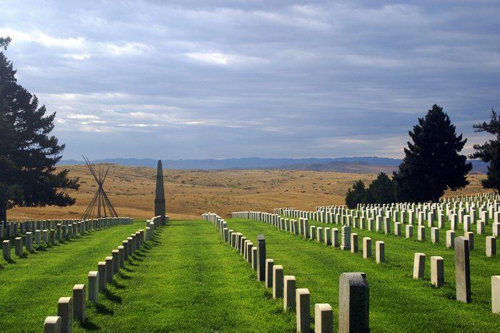 Little Big Horn Battlefield National Monument - Montana