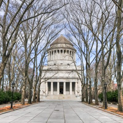 Grant's Tomb, the informal name for the General Grant National Memorial, the final resting place of Ulysses S. Grant, the 18th President of the United States, and his wife, Julia Dent Grant in NYC.