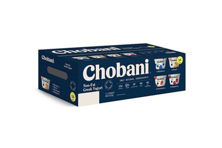 Chobani Greek Yogurt Variety Pack (16 ct.)