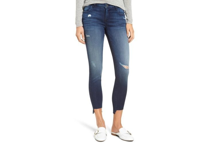 Connie Step Hem Skinny Jeans