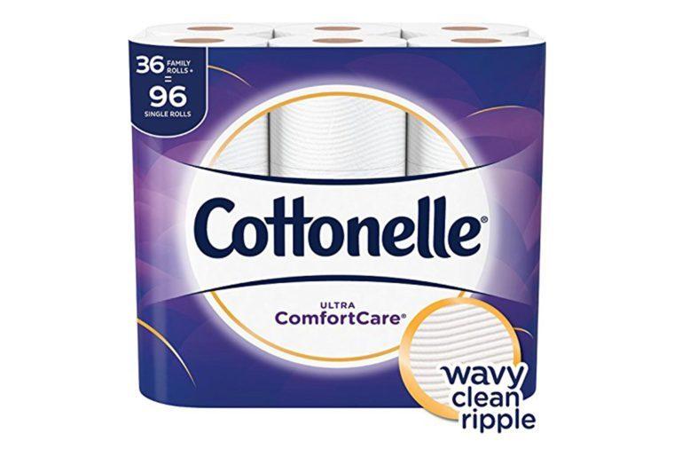 Cottonelle-Ultra-ComfortCare-Toilet-Paper,-Soft-Bath-Tissue,-36-Family-Rolls+