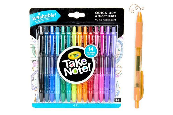 Crayola Washable Gel Pens, School Supplies, 14 Count