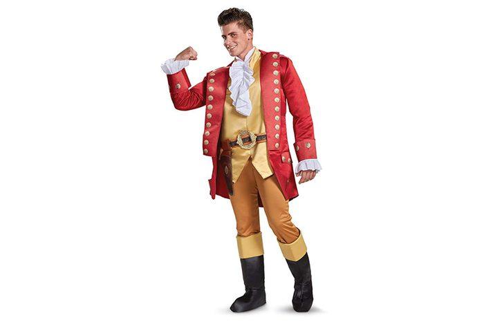 Disney Men's Plus Size Gaston Deluxe Adult Costume