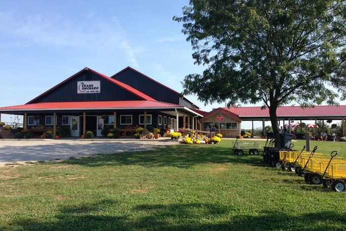 Evans Orchard in Kentucky