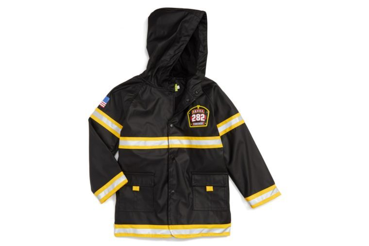Fire Chief Raincoat