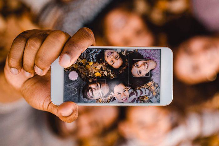 selfie family instagram caption