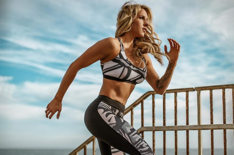 Johanna Stavrakaki Fitness Athlete and CEO and Founder of Sthenos Activewear
