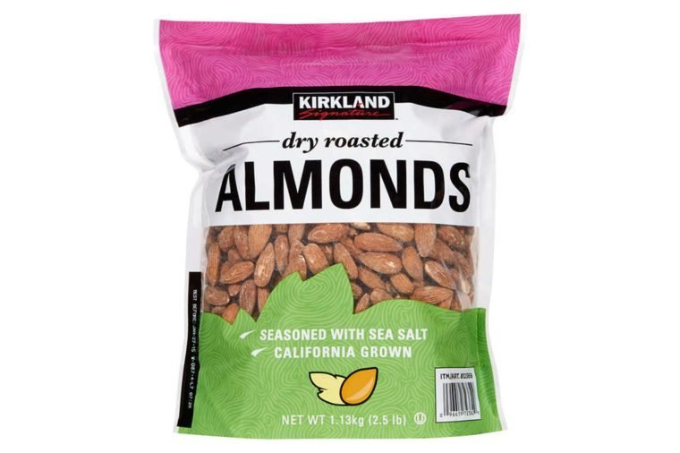 Kirkland Signature Dry Roasted Almonds, 40 oz