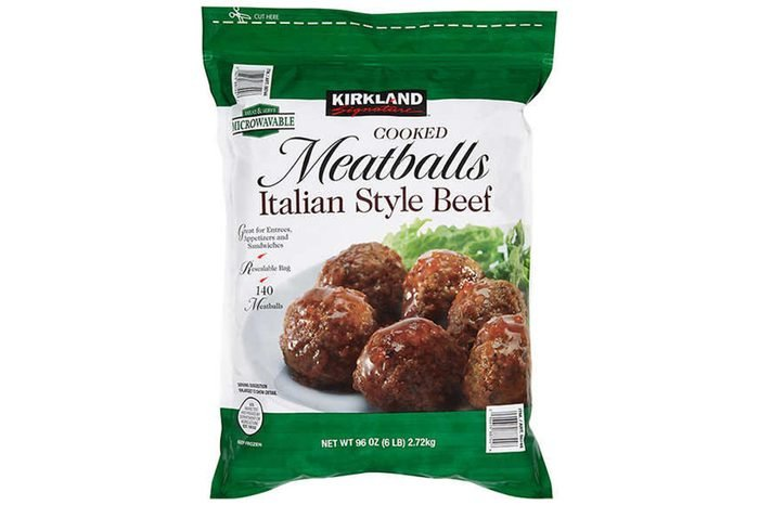 Kirkland Signature Meatballs, Italian Style Beef, Cooked 6 lbs