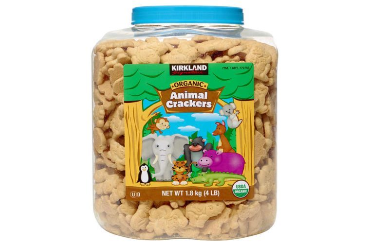 Kirkland Signature Organic Animal Crackers, 64 oz