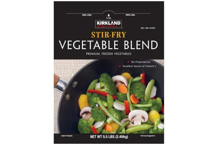 Kirkland Signature Stir Fry Vegetables, 5.5 lbs