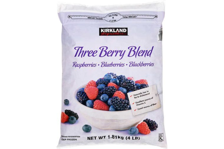 Kirkland Signature Three Berry Blend, 4 lbs