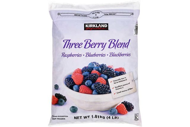 Kirkland Signature Three Berry Blend, 4 lbs