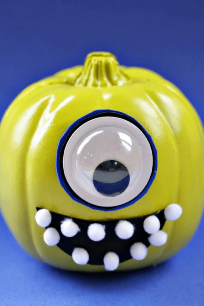 Mike-Wazowski-Pumpkin