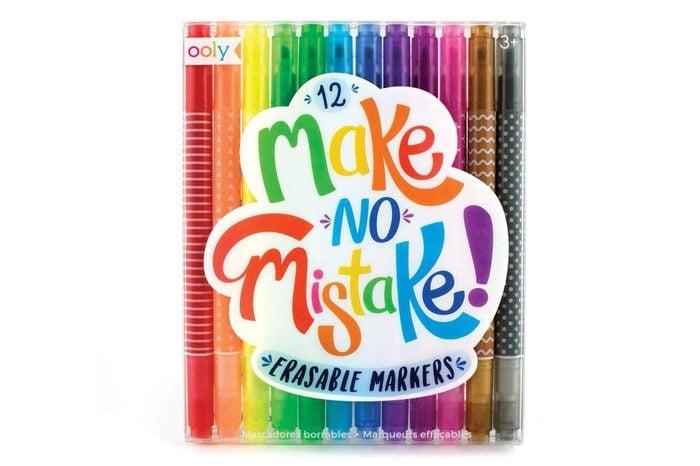 OOLY Make No Mistake Erasable Markers, Set of 12 (130-046)