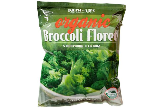 Path of Life Organic Broccoli Florets, 1 lb, 4 ct