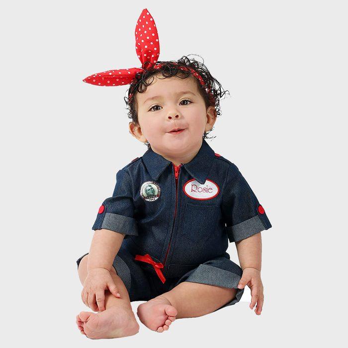 Rosie The Riveter Baby Costume