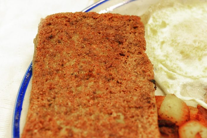 Philly Scrapple and Eggs
