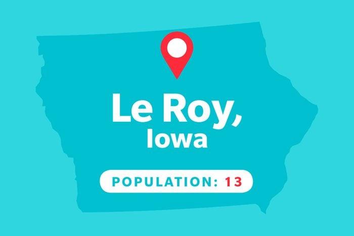 Le Roy, Iowa