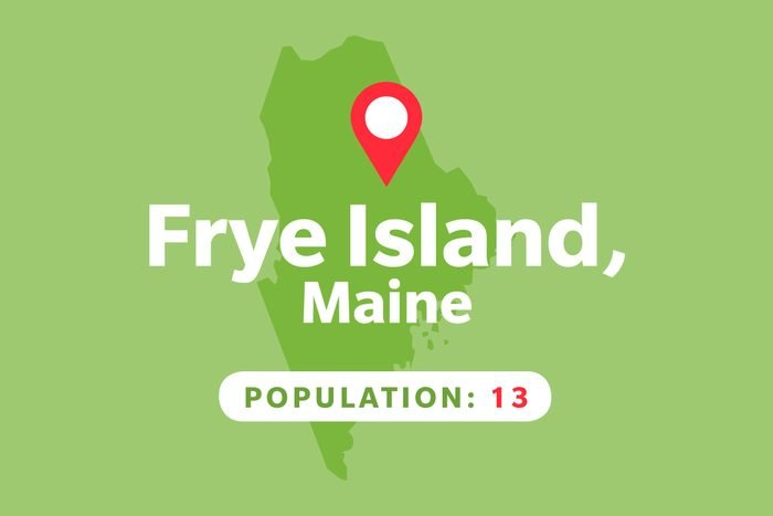 Frye Island, Maine