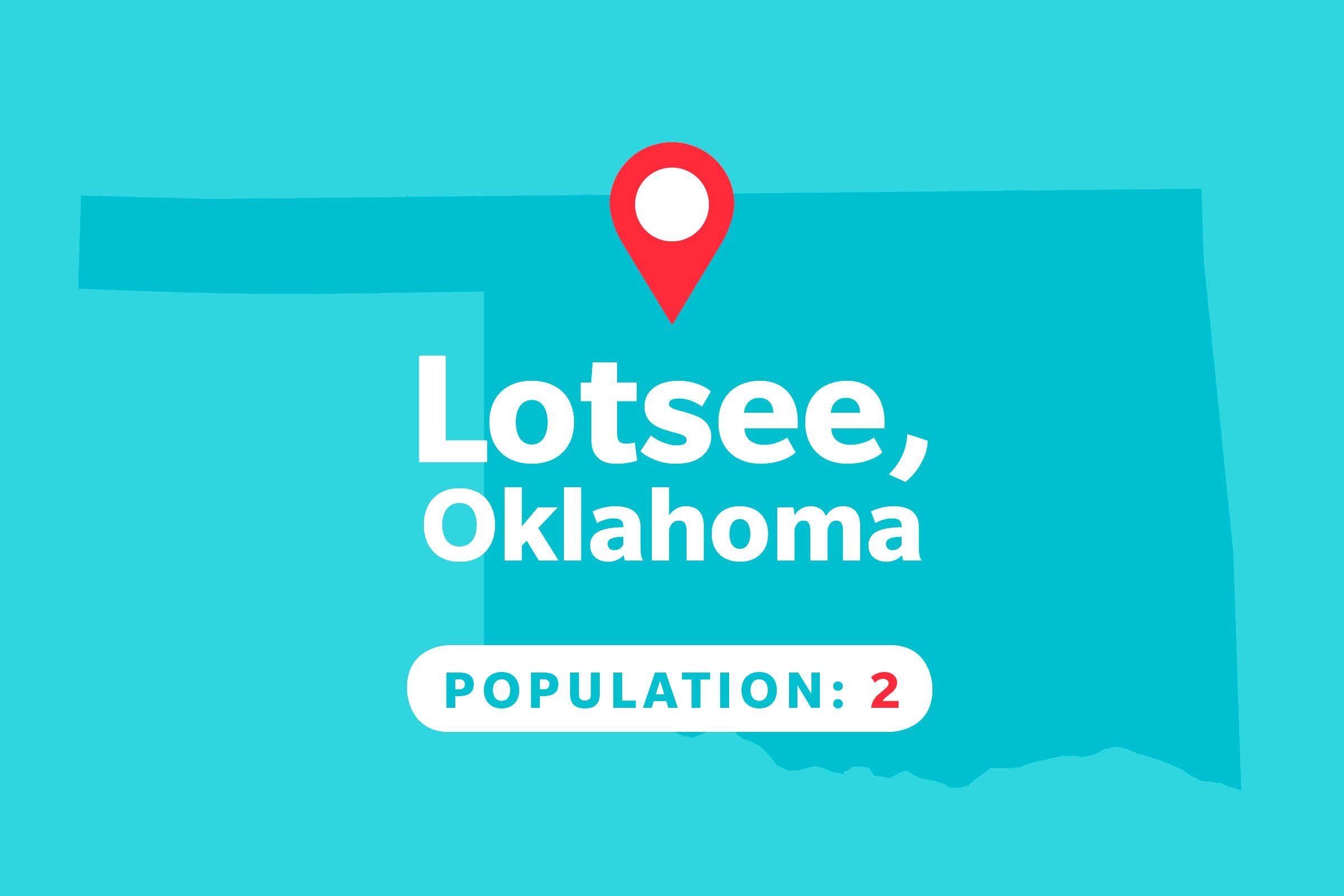 Lotsee, Oklahoma