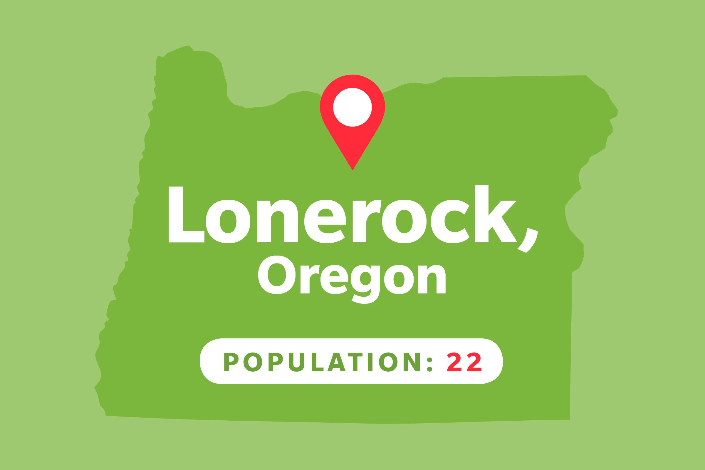 Lonerock, Oregon
