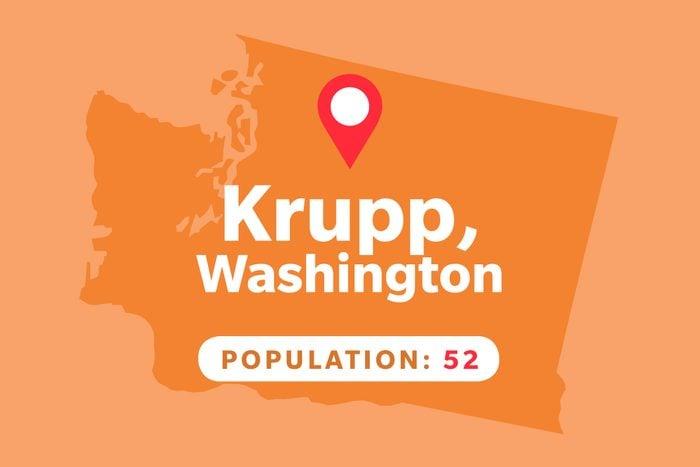 Krupp, Washington