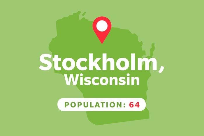 Stockholm, Wisconsin