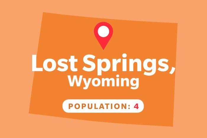 Lost Springs, Wyoming