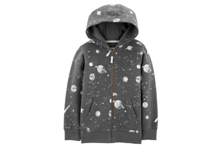 Space Zip-Up Hoodie