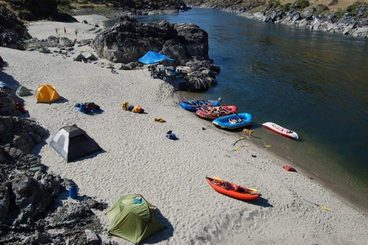 Snake River Campsite