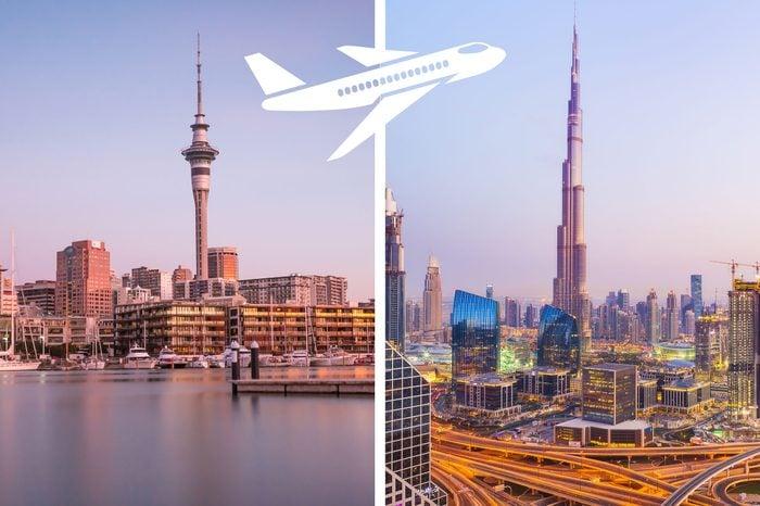 longest nonstop flights auckland to dubai