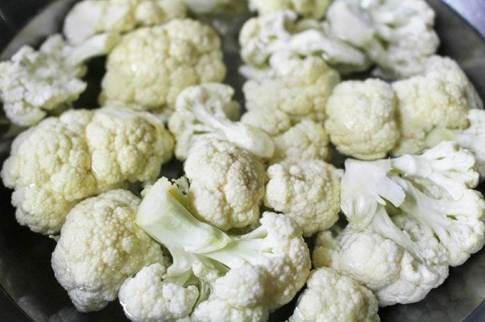 cauliflower cut into small pieces