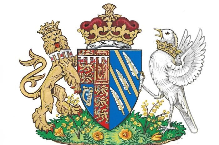 Meghan Duchess of Sussex coat of arms